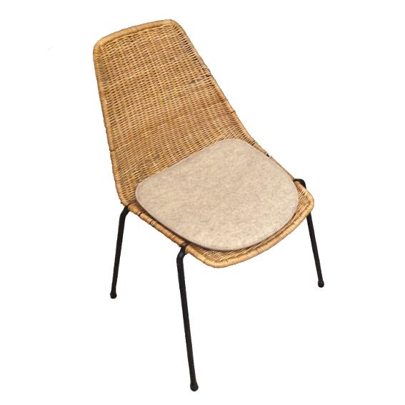 stuhlkissen l basket chair i gian franco legler. Black Bedroom Furniture Sets. Home Design Ideas