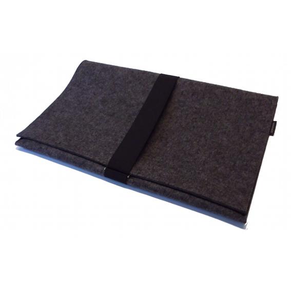 laptoptasche i macbag 17 i anthrazit meliert b ro. Black Bedroom Furniture Sets. Home Design Ideas