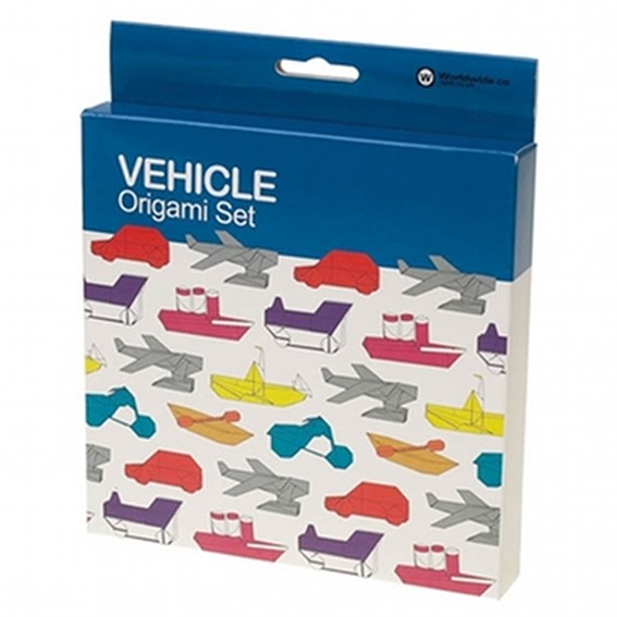 Origami Set Vehicle Fahrzeuge 100 Blatt