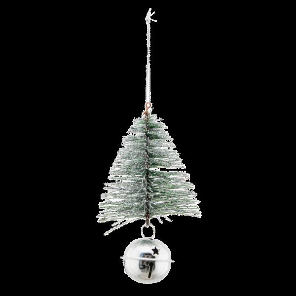Baum mit Gloeckchen House Doctor Silber Bell & Tree