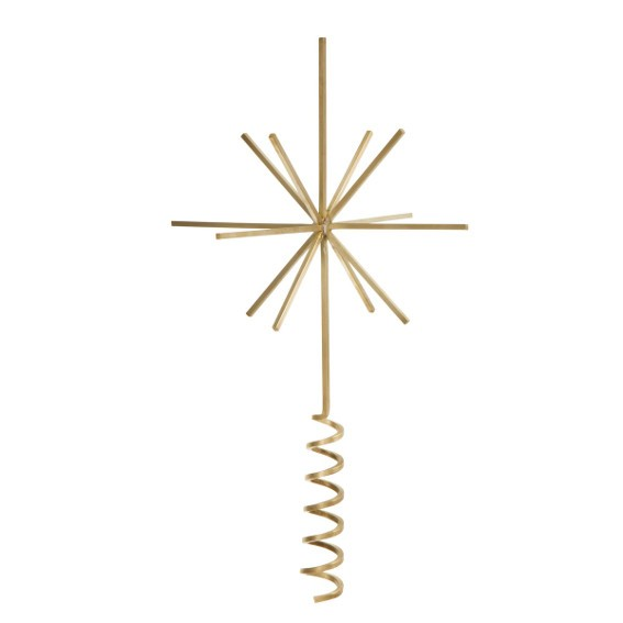 Messing Christbaumspitze I Brass Tree Top Star I ferm living