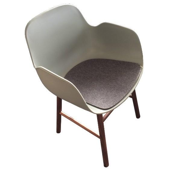 Sitzauflage aus Wollfilz für Form Lehnstuhl von Normann Copenhagen