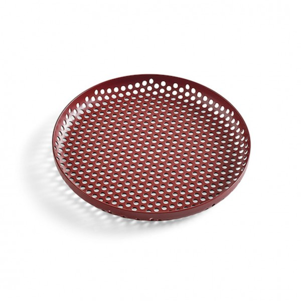 Perforated Tray S Hay Bordeaux