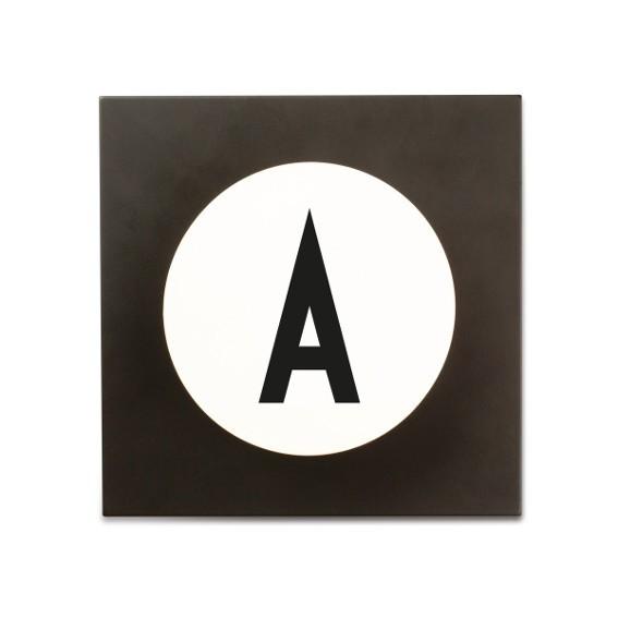 Buchstabenhaken Designletters Typographie Arne Jacobsen