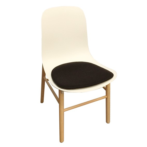 Kristalia Sharky Chair Stuhlkissen aus Wollfilz