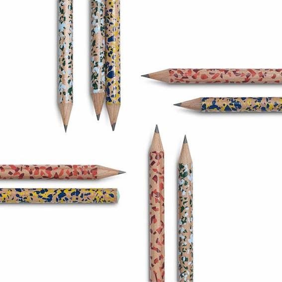 Bleistift Terrazzo Hay Pencil Sprenkel