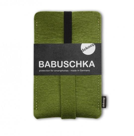 Handytasche I Babuschka 6 Wollfilz I Dekoop