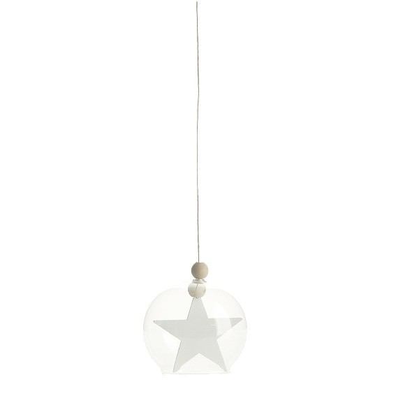 Glaskugel hanging Star House Doctor bei Raumformplan Hannover