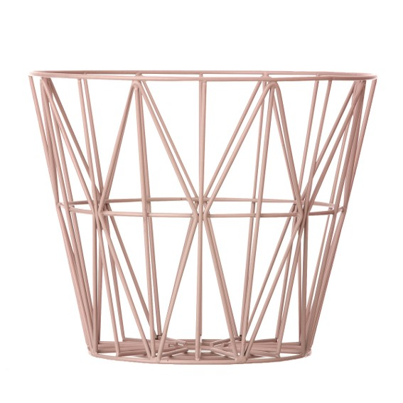 Wire Basket L Rosa Ferm Living
