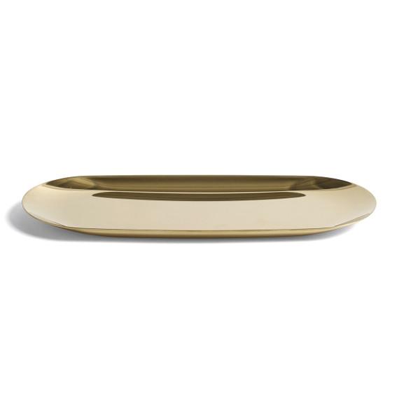 Das Tablett Tray Gold Von Hay Ist Ein Kleines Goldenes Tablett Ob