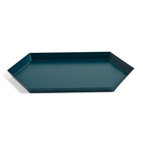 Tablett Kaleido HAY M Dark Green Dunkle Grün  RaumFormPlan
