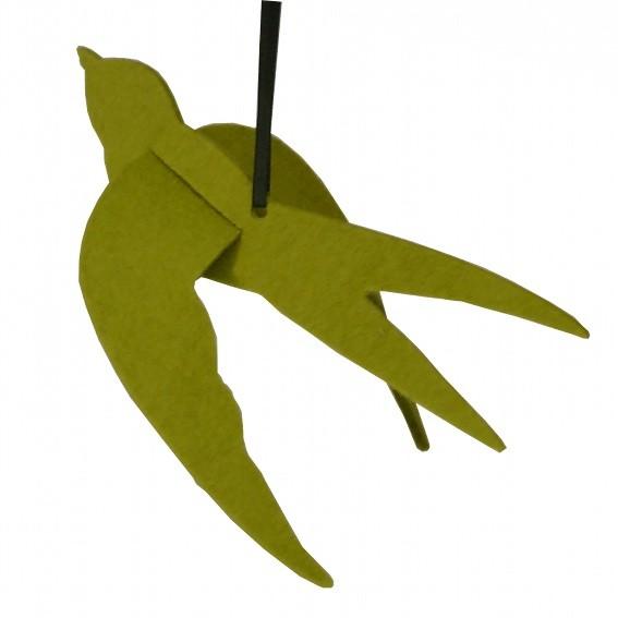 Filzschwalbe Seebastian - Dekoration aus Wollfilz Hellolive