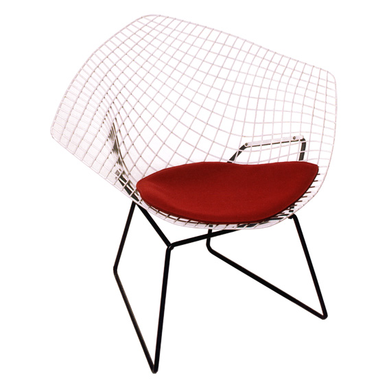 stuhlkissen l diamond chair i harry bertoia stuhlkissen wohnen. Black Bedroom Furniture Sets. Home Design Ideas