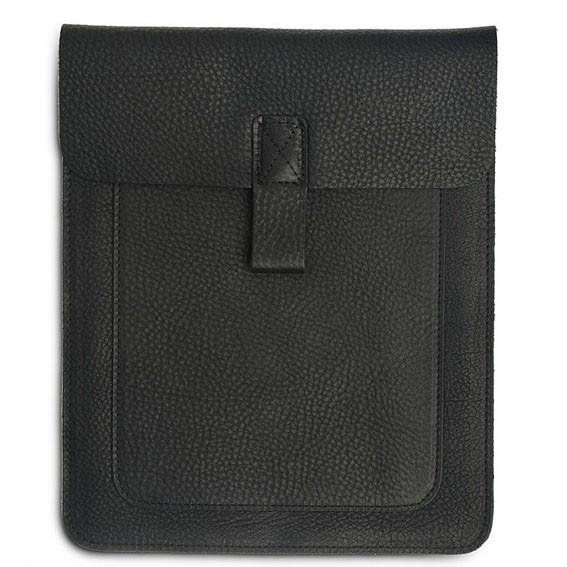 keecie Couch Potato iPad Tasche Leder schwarz