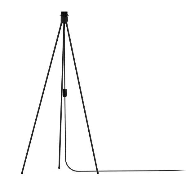 Schwarzes Untergestell Leuchtenfuß Tripod von Vita für Stehleuchten