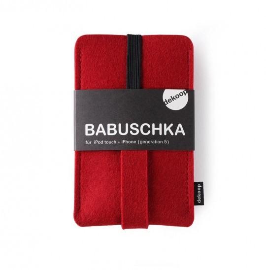 Handytasche Iphone 5 Rot Babuschka dekoop