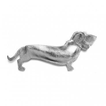 Etui Dackel Good Dog Silber von keecie