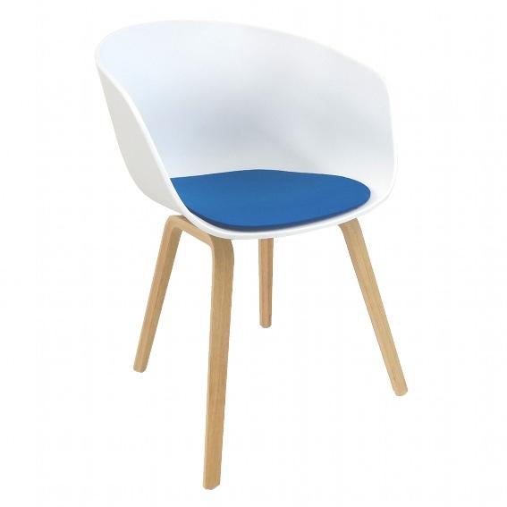 sitzauflage l about a chair aac 22 l hay sitzauflagen wohnen. Black Bedroom Furniture Sets. Home Design Ideas