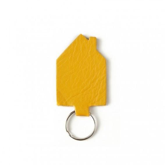 Schlüsselanhänger House Heeper Haus Curry Gelb Keecie RaumFormPlan